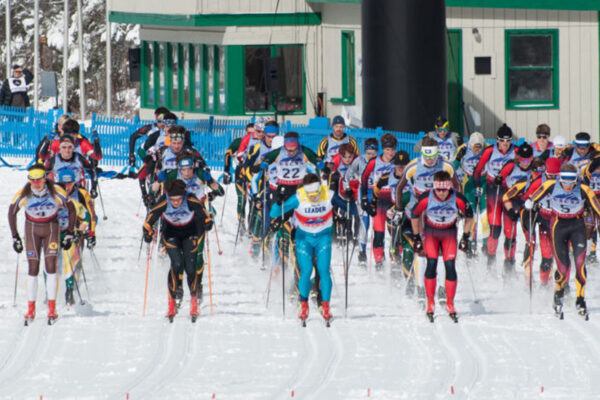 Western Nordic Skiing men take 1st, women 2nd at 2018 USCSA National Championships