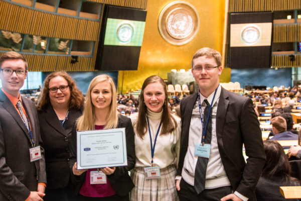 Western's Model UN travels to NYC, brings home three awards