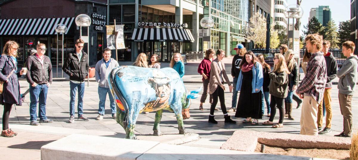 Honors students explore Denver art scene