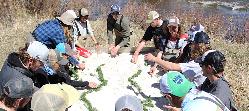 Fly fishing club volunteers more than 500 hours to improve Gunnison Watershed