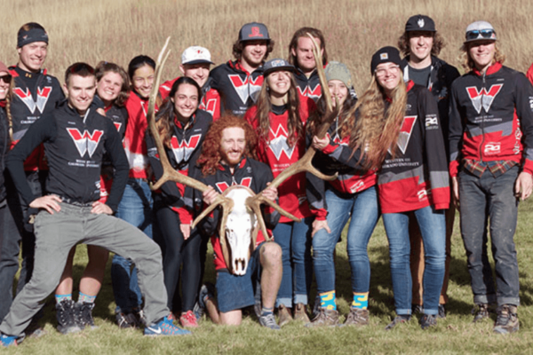 Western Mountain Bike Team wins nationals, takes the antlers