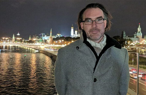 Western professor travels to Russia to talk art forgery, graduate studies