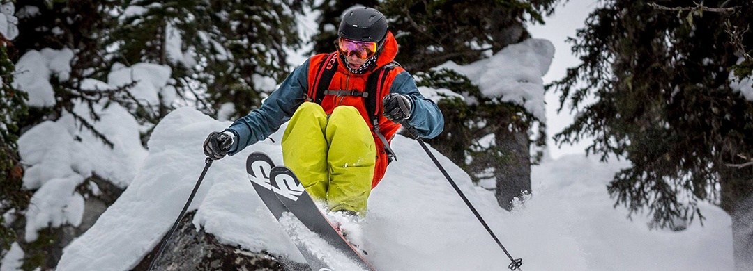 Sophomore competes on Freeride World Tour