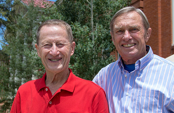Colorado Lt. Gov. lauds longtime professors Bruce Bartleson, Duane Vandenbusche
