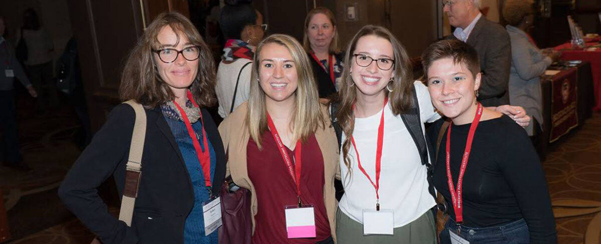 Honors Program Director leads two students to National Collegiate Honors Council