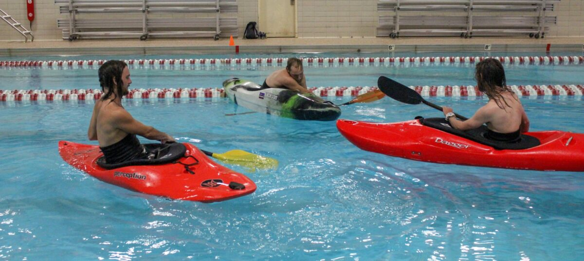 Kayaking classes offered for students, community members