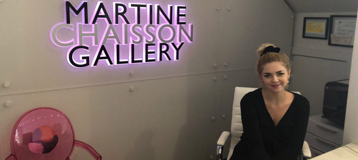 MGES student lands Gallery Manager position from internship