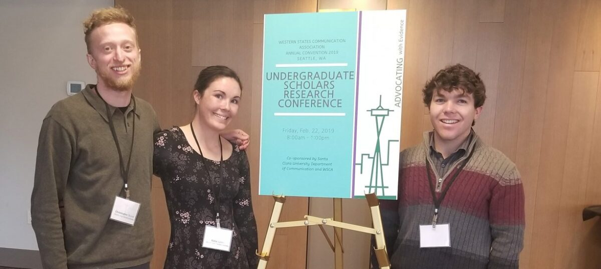 Western students first in program history to present at Research Conference