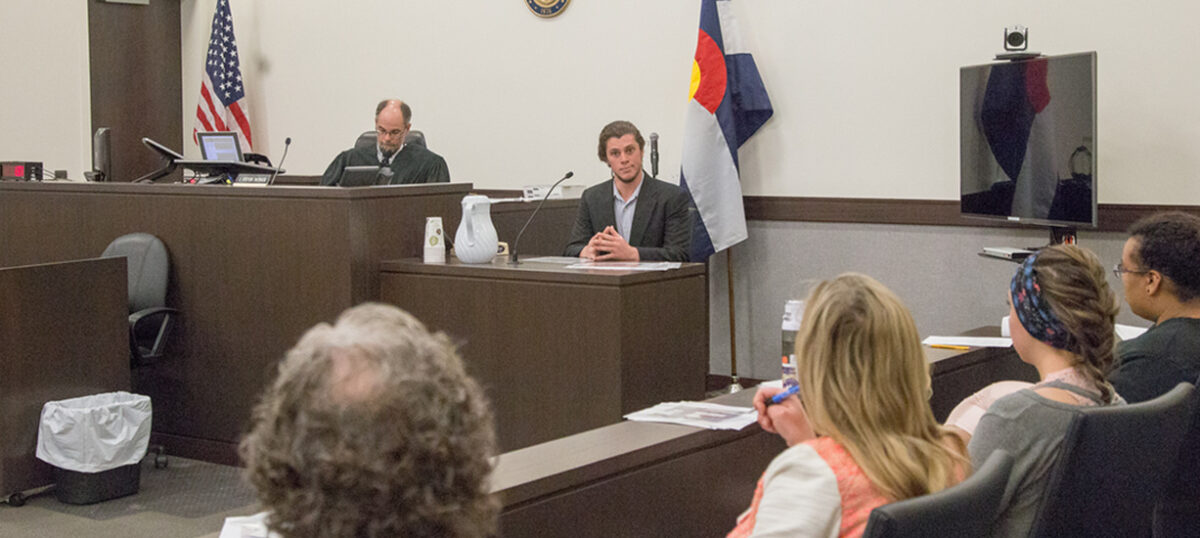 Western's Mock Trial Team travels to Colorado Springs for competition