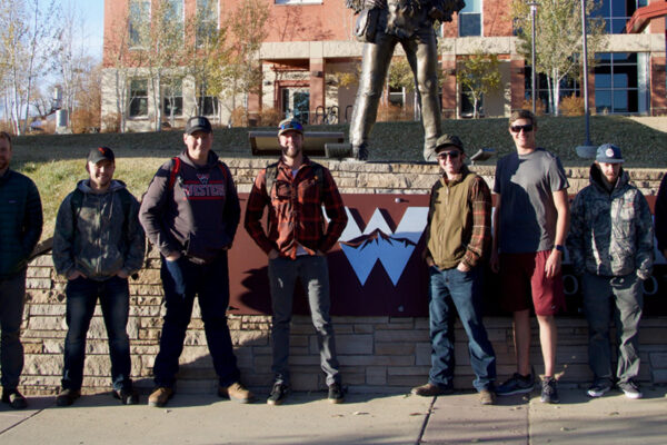 Western's Backcountry Hunters and Anglers (BHA) chapter highlighted as the Collegiate Chapter of the Month by national organization