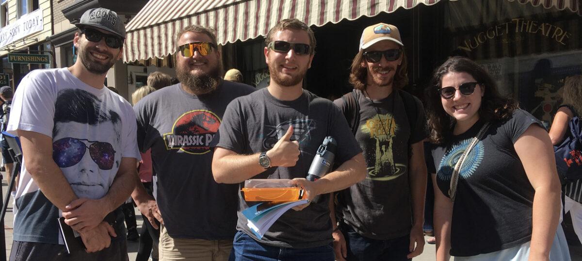 Mountaineer Media visits Telluride for film festival