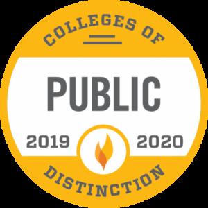 Public Colleges of Distinction 2019-2020