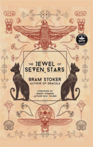 """Cover of a book titled, """"The Jewel of Seven Stars"""""""