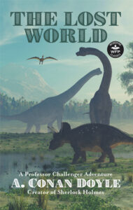 """Cover of a book titled, """"The Lost World"""""""