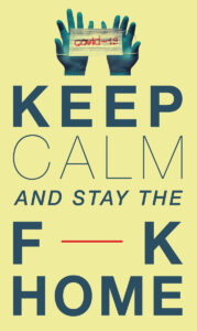 keep calm artwork