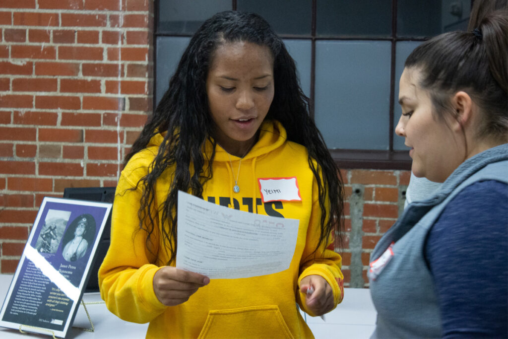 student STEM speaker