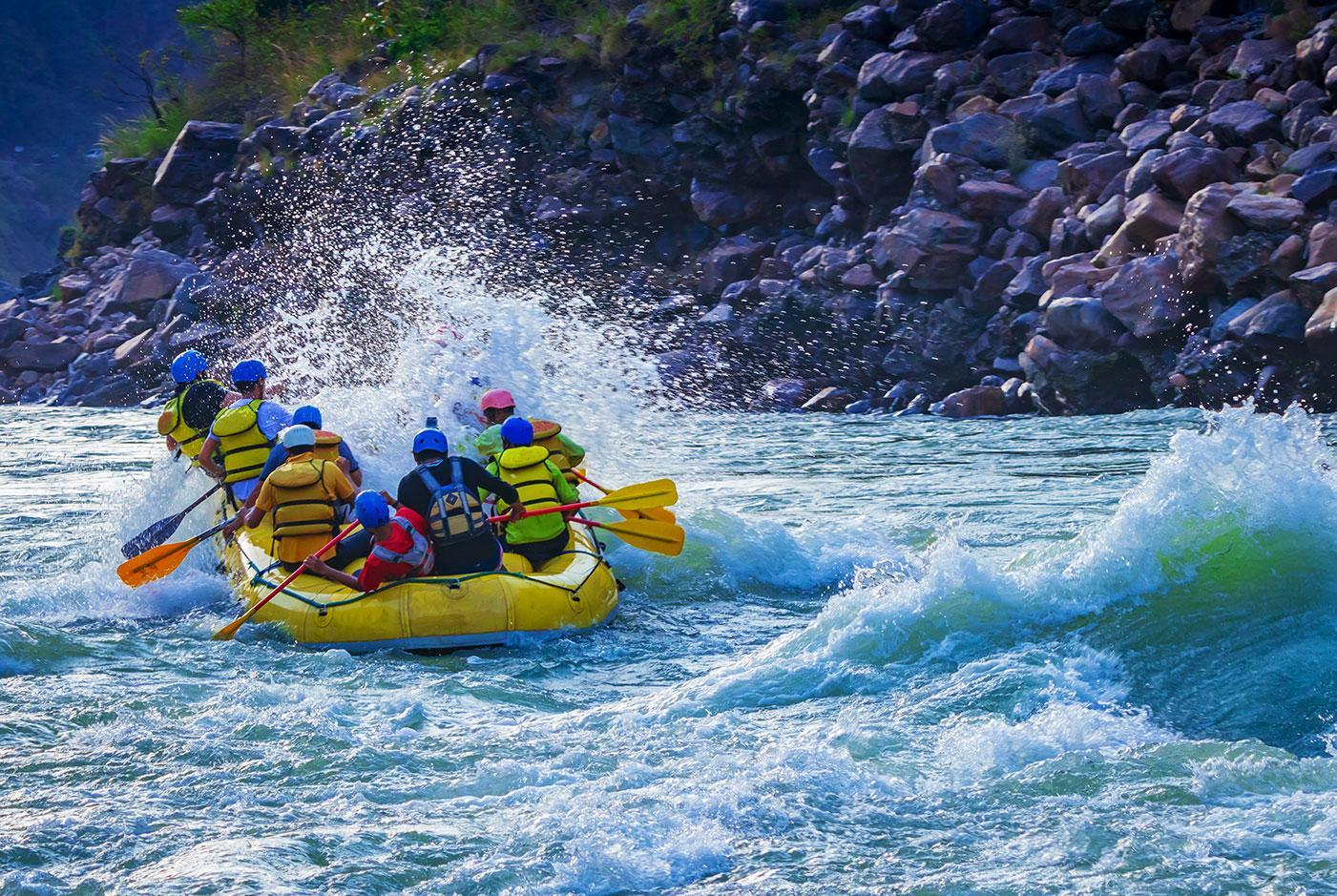 gunnison white water rafting