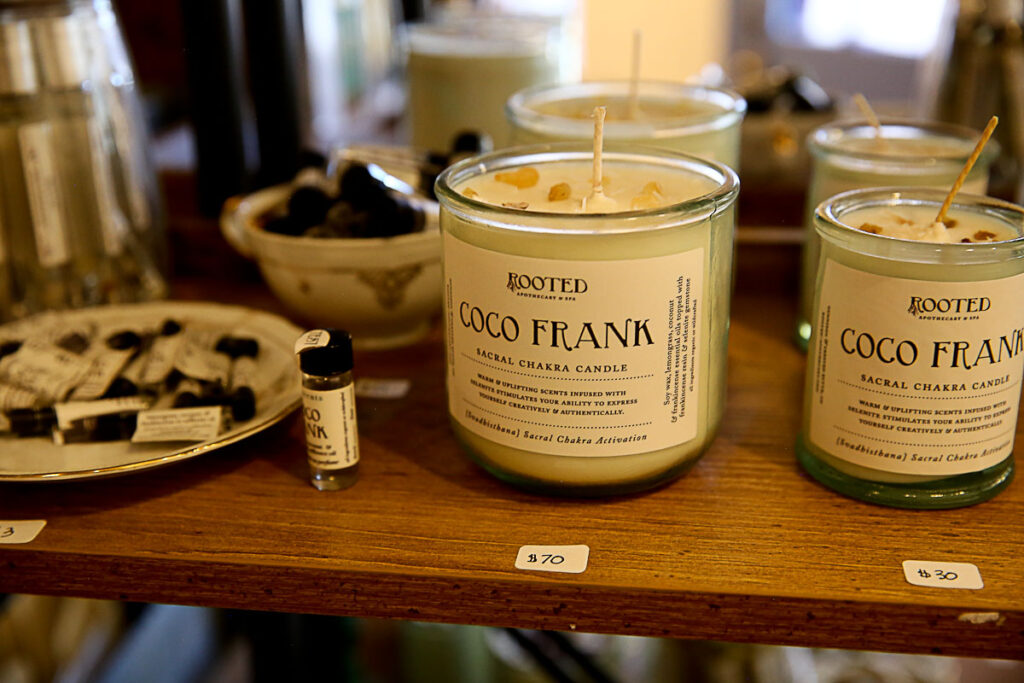 rooted apothecary candle
