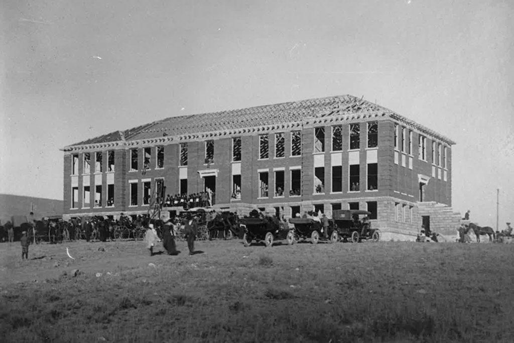 historic western building