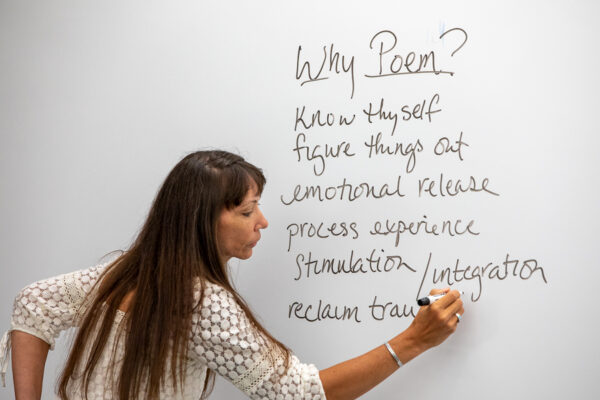 Fuhrman teaching at whiteboard